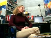 lewd brunette mother i disrobes clothing