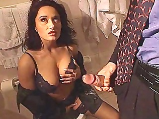 erica bella receive screwed in the latrine
