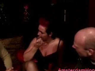 mature hooker in nylons sucks dick