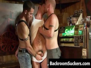 butch bum bashing in the back room part11
