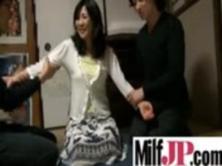 cute japanese milf girl acquire drilled hard