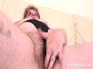 big beautiful woman excited mature working her