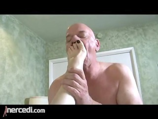 latin mature wife has her feet drilled big tits,