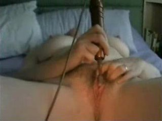 aged masturbating with toy