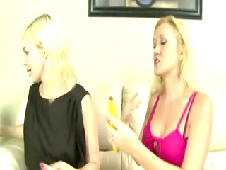lustful blonde mamma and daughter amateurs