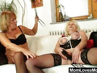 sadomasochism wife bangs granny