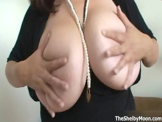 horny mama showing her huge natural whoppers