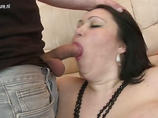 big titted mother enjoying a juvenile wang