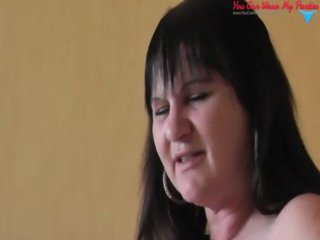 bawdy british wife strapon and cum overspread