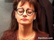 hot older babe in hardcore three-some