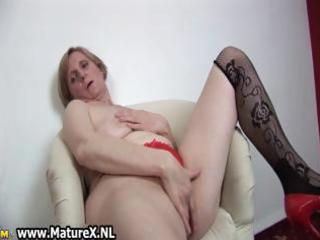 slutty old mamma is permeating part5
