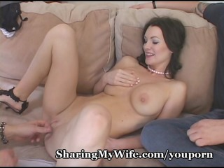 hungry wife feeds on new ramrod