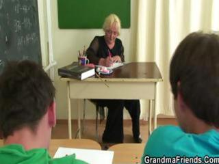 fellows fuck granny teacher