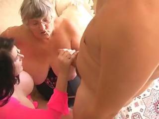 grandma libby and cutie eyes share a youthful