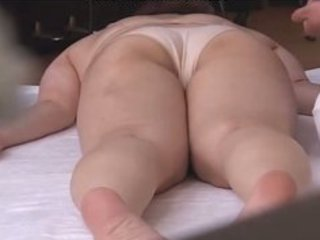slutty japanese wives massaged and then fucked at