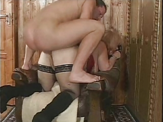 granny wobbles while drilled