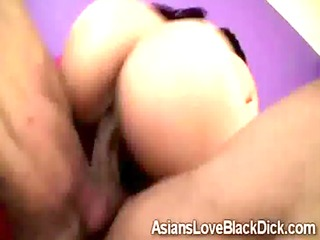 large boobed asian mika tan enjoys giant dark meat