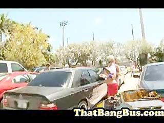 gang team fuck on the bang bus