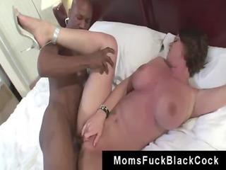 dark brown mother kayla quinn railed by mailman