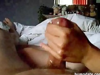 dilettante wife gives cook jerking with large