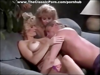 511s threesome with golden-haired women sharing
