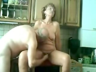my mum receives drilled in the kitchen