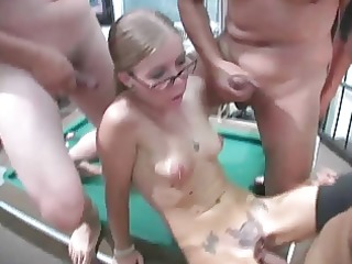 four eyed wife tabitha cuckolds him with his