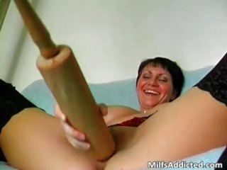 kinky short haired mom is avid as she is part8