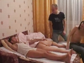 amateur group sex for sleeping mommy