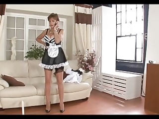busty british lady - maid for joy