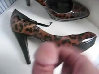 mother in law high heels jerking