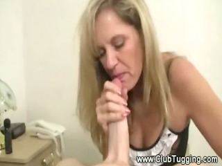 hawt mature d like to fuck pulls wang for boy and