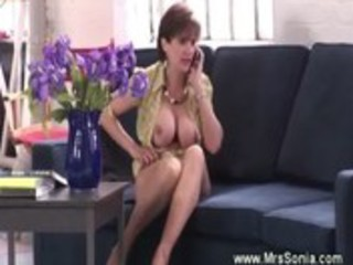 Cuckold watches fingering wife