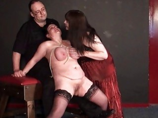 andreas aged lesbo bdsm and whipping to tears