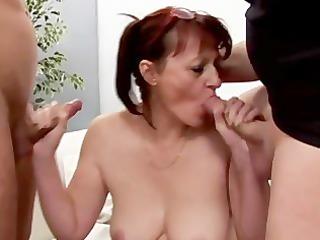 cougar gang team fuck - scene 3