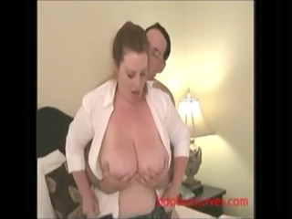 busty cougar pounded by her friend