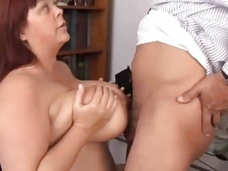 large bumpers older bbw loves to suck cock