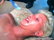 short haired blond d like to fuck is caught