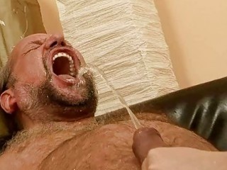 grandpa fucking and pissing on naughty redhead
