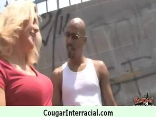 hot cougar receives screwed by juvenile darksome