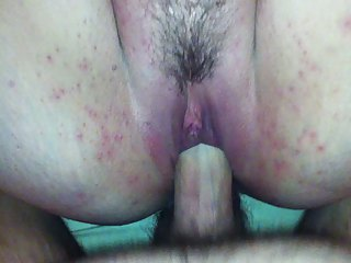 wife on her back