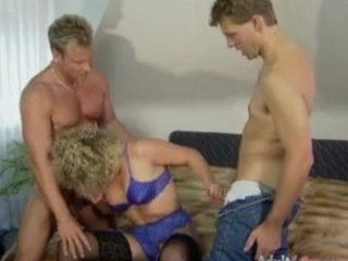 german aged fucked by two guys