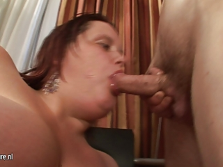 large titted mother engulfing her a-hole off