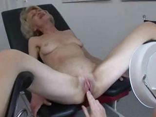 granny acquires her injection at the doctors