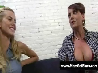 hawt large tit milfs have a fun darksome cockhard
