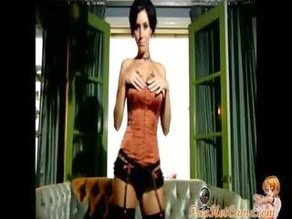 gorgeous milf striptease