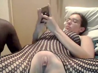 dilettante wife enjoying her black cock