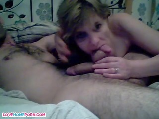my wife engulfing me off