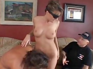 saskia is anally drilled one of the most good milf