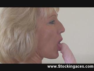stocking mother i penelope nasty bedroom